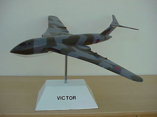 Victor model reputedly displayed at RAF Wyton Officer's Mess. Copyright V-Bombers.org